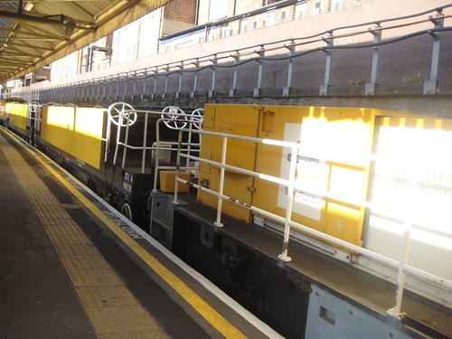 London Underground Trans Plant Train