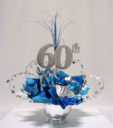 60th Milestone Centerpiece    gift wrappings   Reuni
