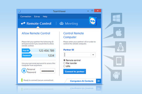 Teamviewer in Action
