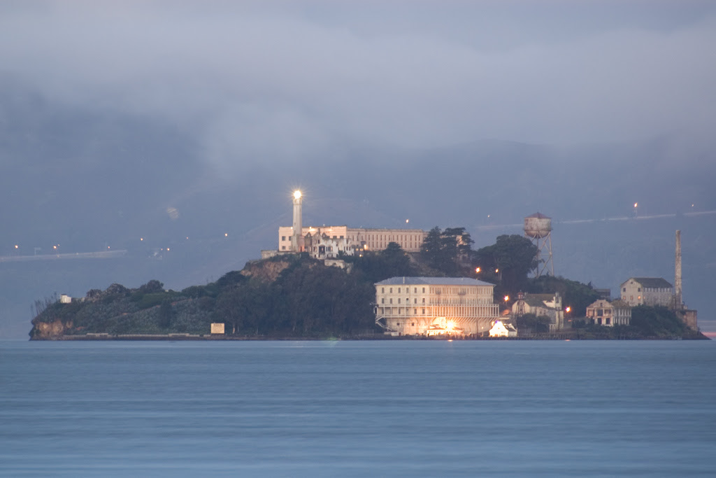 Alcatraz at dawn