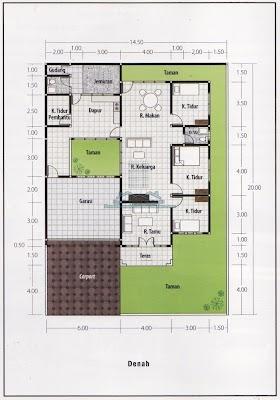 Contoh Sketsa Rumah