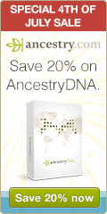 20% off Ancestry DNA