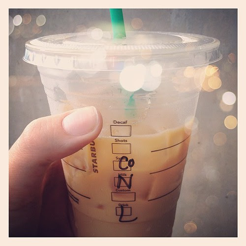 "A new favorite #starbucks ""recipe"""