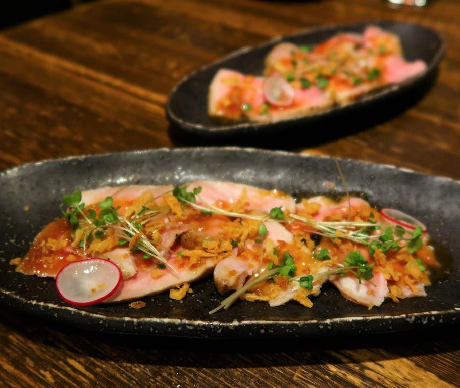 新メニュー豚も鶏もお魚も美味しかった名物長崎芳寿豚と地場野菜