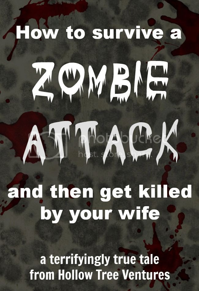 how to survive a zombie attack by Robyn Welling @RobynHTV