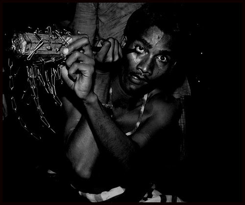 Hardcore Eyeball Piercing - Mohomed Rafaee by firoze shakir photographerno1