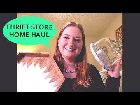Favorite Daughter Thrift Store Home Decor Haul
