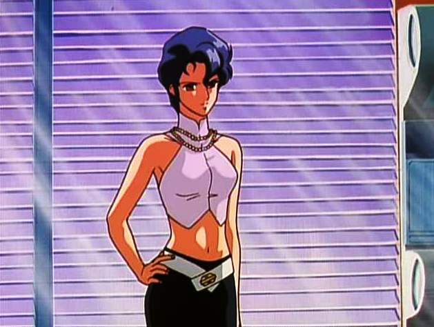 Bubblegum Crisis Chick and Blinds
