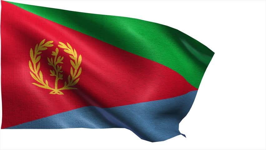 Download Eritrea Flag Loop 1 Stock Footage Video 1370470 - Shutterstock