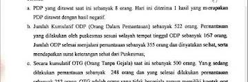 Press Release COVID-19 Tarakan 17 Mei 2020