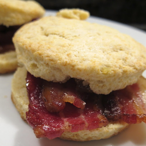 Sweet Potato Biscuit Sandwiches