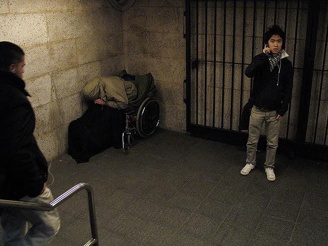 Subway entrance, NYC