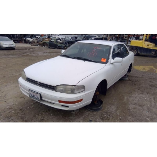Used 1994 Toyota Camry Parts Car White With Purple Interior 4 Cylinder Engine Automatic Transmission