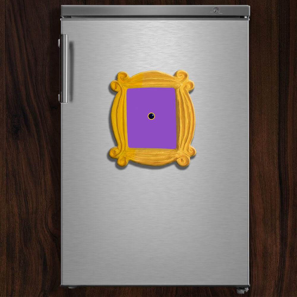 Friends Tv Show Peephole Frame Refrigerator Fridge Magnet Handmade