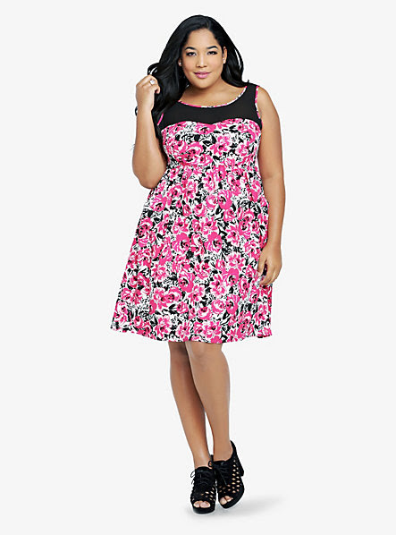 plus size dresses that disguise stomach