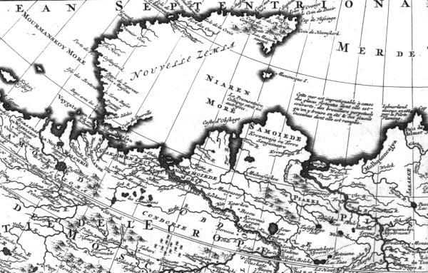 17 Новая Земля на карте ВТ