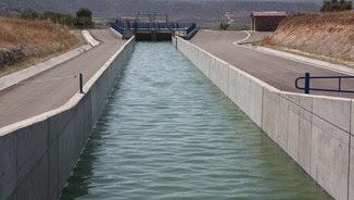 Imatge d'arxiu del canal Segarra-Garrigues (ACN)