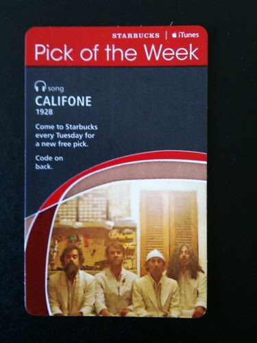 Starbucks iTunes Pick of the Week - Califone - 1928 #fb