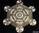 大天使メタトロンが用いた神聖な幾何学プレート古代神聖幾何学メタトロンキューブ フルーツオ...