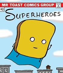 Superheroes comic