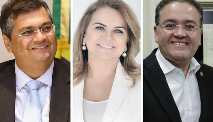 Pela oposição, despontam como pré-candidatos ao Palácio dos Leões Roberto Rocha e Maura Jorge. Flávio Dino tentará a reeleição