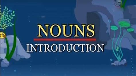 understanding skills english grammar types  nouns kidrhymes youtube