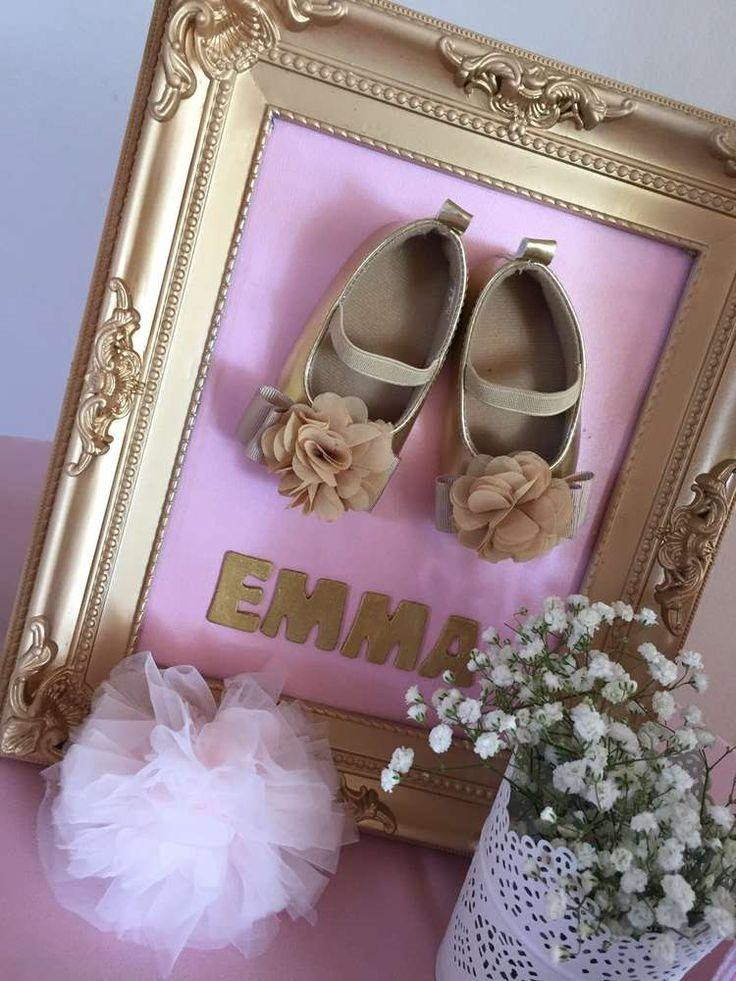 Pink And Gold Baby Shower Baby Shower Party Ideas 2375713 Weddbook