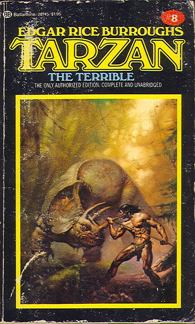 Burroughs, Edgar Rice - Tarzan the Terrible (1983 PB)