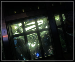 スカイツリーのガラス床。340m高さとのことで……