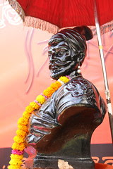 Chhatrapati Shivaji Maharaj Flame of Freedom and Nationalism by firoze shakir photographerno1