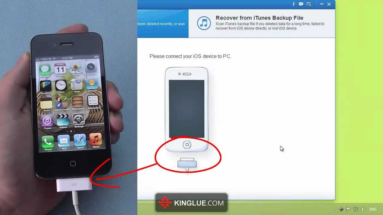 How to Recover Contacts directly from iPhone 4S without iTunes backup?  YouTube