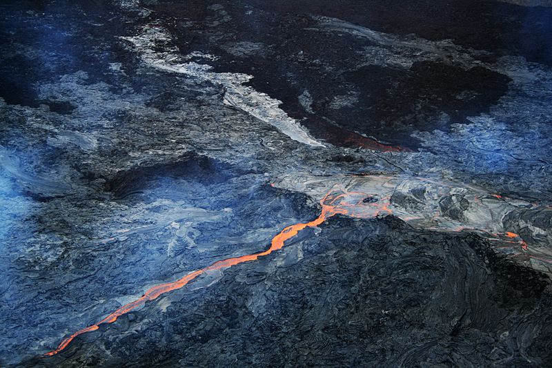 File:Hawaii lava flow 1.JPG