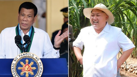 'He is my idol': Duterte cheers N. Korea's Kim despite branding him 'maniac' earlier