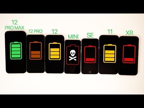 iphone 12 battery mah