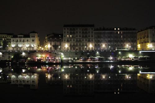 Dazzling lights in Torino