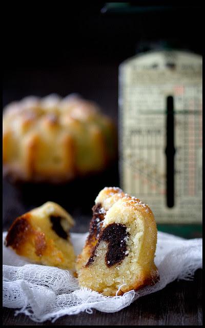 Latte Macchiato Marmorkuchen Mini-Gugelhupf