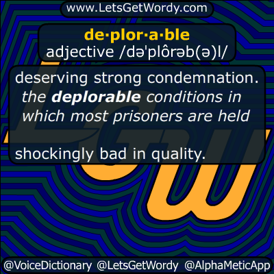 deplorable 09/12/2016 GFX Definition