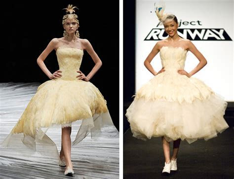Counterfeit Chic: Project Runway: Birds of a Feather