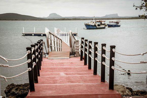 Club Náutico de Gibara, ciudad costera al norte de la provincia de Holguín, Cuba, el 12 de abril de 2017, que se insertará como nuevo destino turístico de la Feria Internacional de Turismo FITCuba 2017. ACN FOTO/Juan Pablo CARRERAS/ogm