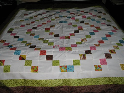 Mom's quilt top-finished!