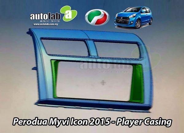 Buy PERODUA MYVI ICON 2015 Double Din Player Dashboard