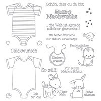 Zum Nachwuchs Photopolymer Stamp Set (German) by Stampin' Up!