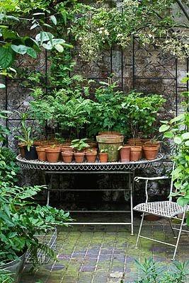 gardenofeurope la console de jardin. Black Bedroom Furniture Sets. Home Design Ideas