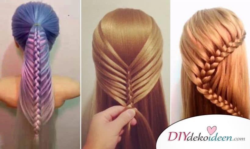 Frisuren Lange Haare Diydekoideen Diy Ideen Deko Bastelideen