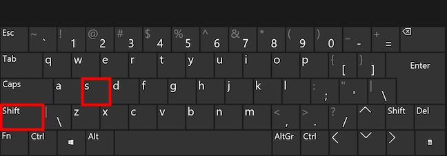 Tome capturas de pantalla de películas en Windows con un atajo de teclado