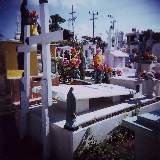 Isla Mujeres cemetary