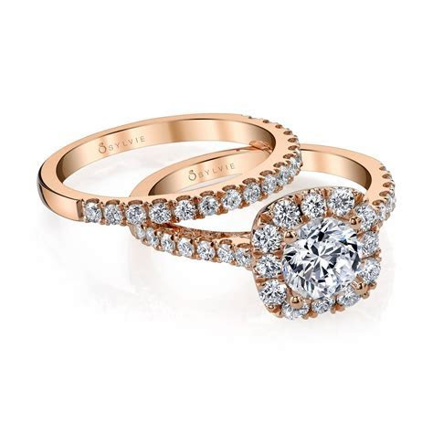 Unique Rose Gold Engagement Rings   Gold Engagement Rings