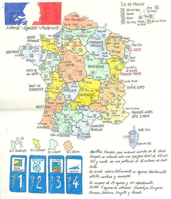 Inscription de voiture du France (I)