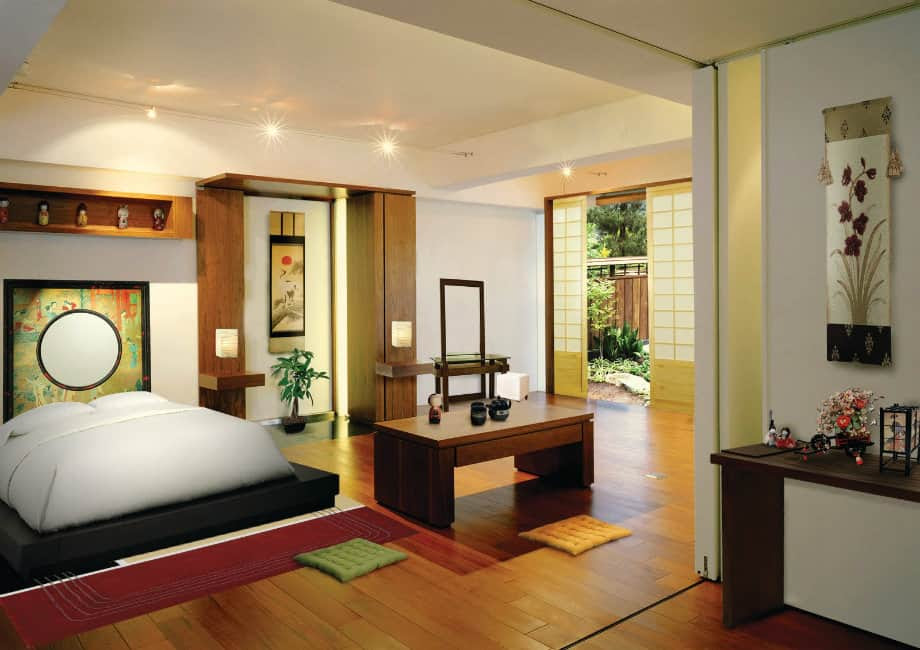 Ideas for bedrooms: Japanese bedroom – HOUSE INTERIOR