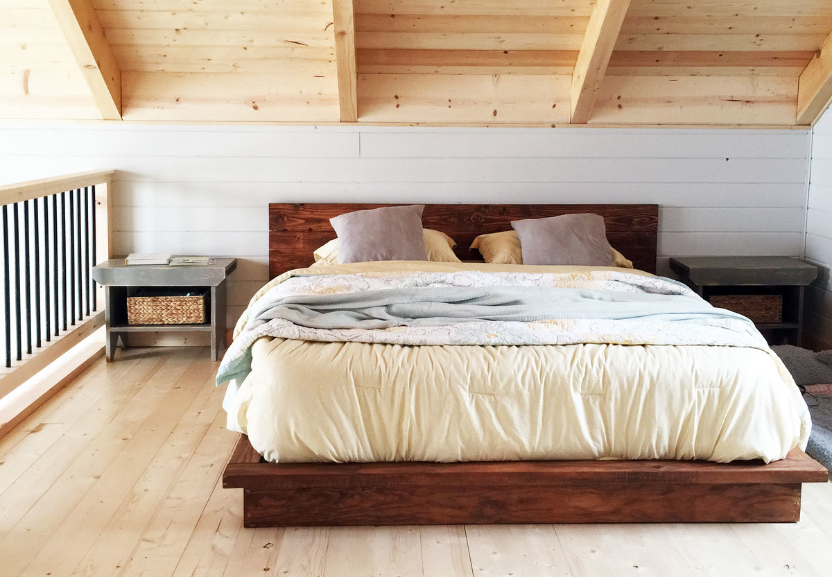 Ana White Rustic Modern 2x6 Platform Bed Diy Projects